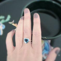 London blu topaz heart ring, www.alicemagnin.com