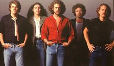 """Don't hurt yourself, young America. Eagles Music, Eagles Live, Eagles Lyrics, Eagles Band, Great Bands, Cool Bands, History Of The Eagles, Vince Gill, Glenn Frey"
