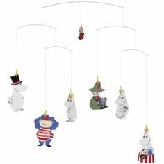 Flensted Mobiles Moomin Mobile by Flensted Mobiles
