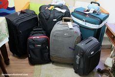 Dicas para arrumar a sua mala de viagem