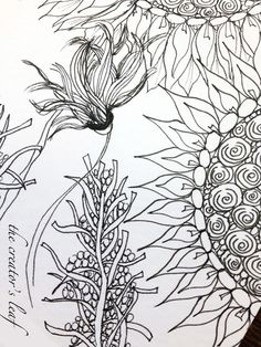 The Creator's Leaf: Watercolored Sunflowers