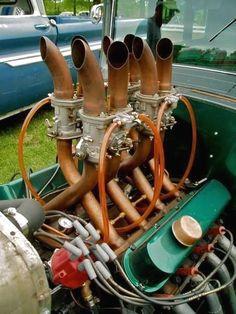rat rod big #trucks Rat Rods, Rat Rod Cars, Rat Rod Trucks, Motor Engine, Car Engine, Old Trucks, Chevy Trucks, Dually Trucks, Truck Drivers