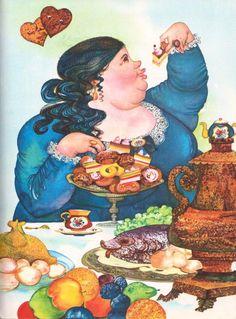 """Ilona Ceipe 1973 """"Pasakas"""", ilustrācija"""