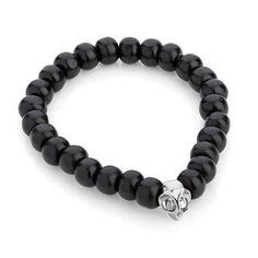 Tarsier Wooden Bead Bracelet. via The Cools