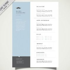 Coloured curriculum vitae template free vector 2016 pinterest cv resumes datass impressive light design moderntimes infographic design light background curriculum vitae 2 pages delivery time 1 week yelopaper Images
