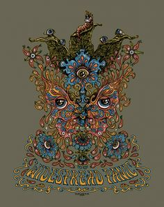 Widespread Panic Shirt Graphic, by Marq Spusta
