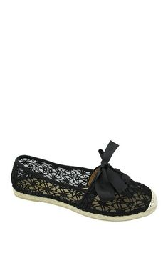 Yoki Aasia Lace Espadrille by Non Specific on @HauteLook
