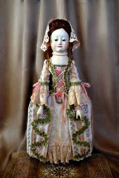 "Huge 28"" Queen Anne dollrepro by Daria Vistavna dv-toys.blogspot.com"