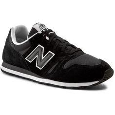 Sneakersy NEW BALANCE - Lifestyle ML373MMC Czarny