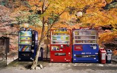 Vending machines, #Japan #travel #facts #asia