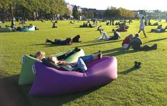 This 'Self-Inflating' Portable Hammock Allows You To Relax Anywhere At Anytime!