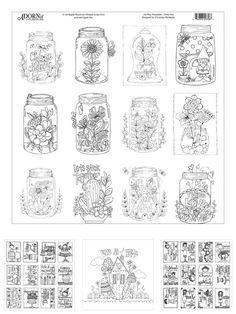 ArtPlay Watercolor Aquarellpapier zum Ausmalen | www.danipeuss.de Scrapbooking Stempeln Mixed Media