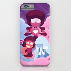 Made of Love Garnet Ruby Sapphire Phone Case ~ $35 ~ Steven Universe Gifts!