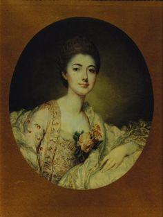 Louise de Crozat, Duchesse de Choiseul, beautiful portrait