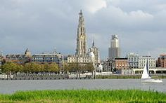 Antwerpen Belgium - Port of Departure for New York USA.  Goossens family arrived in New York 23 Apr 1891 with a destination of Kansas City.