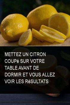 Mettez un citron coupé sur votre table avant de dormir et vous allez voir les résultats #Dormir #Citron #Avantdedormir #Table #Mettez #Voir #Resultat #Coupe Reiki, Lime, Fruit, Table, Nature, Lemon Benefits, Raspberry Cake, The Nerve, Tips And Tricks