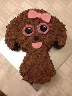 Maddy Beanie Boo chocolate cake