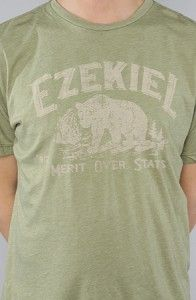 Ezekiel – The Campground T-Shirt in Heather Moss