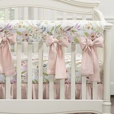 Our baby girl blush watercolor crib bedding collection pairs so nicely with your pink, white, or pastel nursery theme. Baby Girl Bedding Sets, Girl Nursery Bedding, Baby Crib Bedding, Girl Crib Sets, Nursery Room, Nursery Ideas, Bedroom, Comforter Sets, Nursery Decor