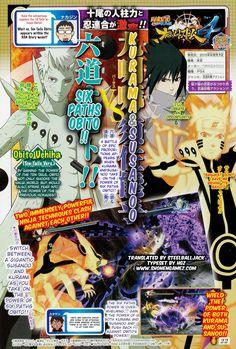 Naruto SUN Storm 4, Naruto-Sasuke Vs Jinchuriki Obito