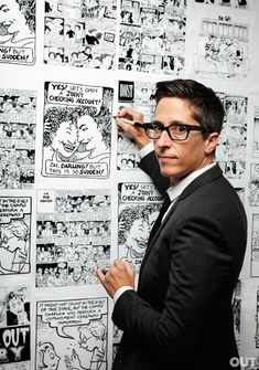 Alison Bechdel is the author/artist of Dykes to Watch Out For comic strip and the award-winning graphic memoir