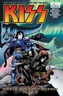 KISS #4 Casey Maloney cover a ---> shipping is $0.01 !!!