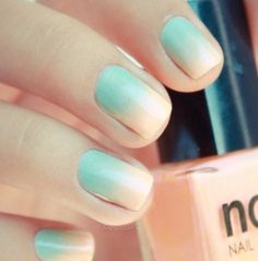 Ombre Turquoise