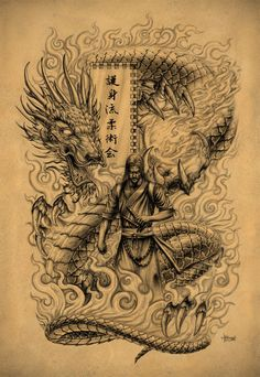 Samurai Dragon by Loren86 on @DeviantArt