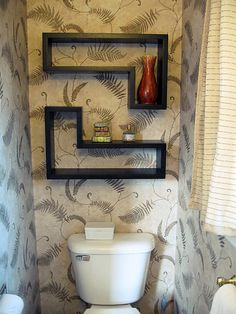 Great toilet deco idea