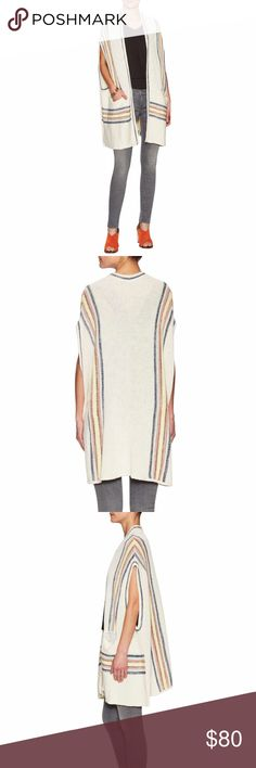 Selling this Free People Deck Chair Kimono Sweater on Poshmark! My username is: jaedaleigh.Use code HDLWQ for $5!  #shopmycloset #poshmark #fashion #shopping #style #forsale #Free People #Sweaters