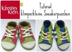 klimperklein: Tutorial Sneakerpuschen
