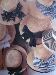 Pick your hat, ladies
