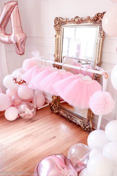 Bella – A Darling Daydream, birthday party, birthday, ballerina birthday par… – Party Ideas Ballerina Party Decorations, 50th Birthday Party Decorations, Ballerina Birthday Parties, Birthday Party Tables, Pink Birthday, Unicorn Birthday Parties, 5th Birthday, Birthday Wishes, Birthday Ideas