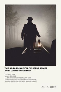 The Assassination of Jessie James by the Coward Robert Ford by Andrew Sebastian Kwan Minimal Movie Posters, Minimal Poster, Cinema Posters, Film Posters, Casey Affleck, Robert Duvall, Jeff Bridges, True Grit, Frames