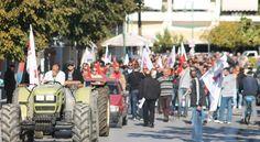 Πρέβεζα : Δυναμική συγκέντρωση και πορεία του ΠΑΜΕ στην Πρέβεζα [φωτο + Βίντεο]