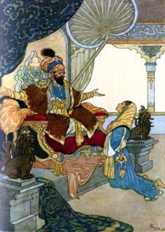 Arabian Nights -- Rene Bull, 1872-1942