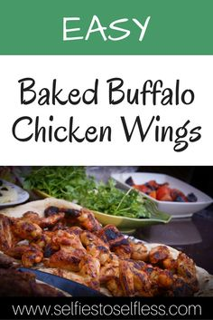If you like a hot wing, then try this baked buffalo chicken wing recipe. It's ready in under 30 minutes and is perfect for a crowd!
