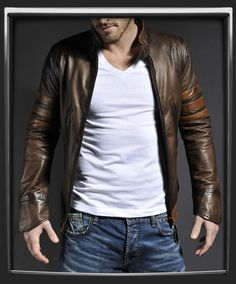 I found 'X-Men Origins: Wolverine Leather Jacket-Leather Jackets by Soul Revolver' on Wish, check it out!