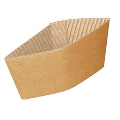 GD329 Corrugated Cup Sleeves for 12 oz, And 16 oz. Cups (Pack of 1000)
