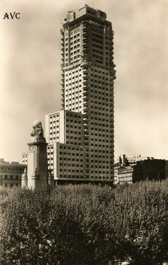 EDIFICIO ESPAÑA - 1957