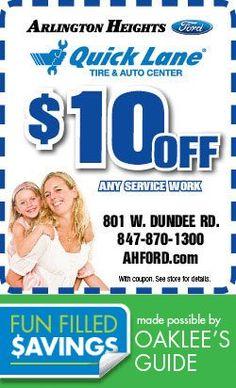 Arlington Heights Quick Lane! Local Coupons, Arlington Heights, Dundee, Fun, Hilarious