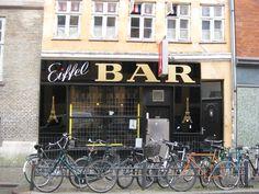 Eiffel Bar Urban Life, Danish, Bar, Country, Night, City, Collection, Rural Area, Danish Pastries
