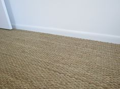 Seagrass carpet for the living room? Durable and hard-wearing. Would want … – carpet stairs Hallway Carpet, Wall Carpet, Carpet Stairs, Bedroom Carpet, Carpet Flooring, Rugs On Carpet, Seagrass Carpet, Natural Flooring, Cheap Rugs