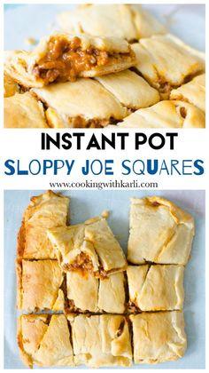 Sloppy Joe Squares - Cooking With Karli