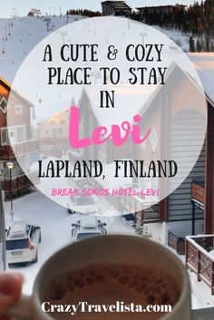 Where to Stay in Levi, Finland: A cute boutique & affordable hotel in the heart of Levi, the perfect area to explore Finnish Lapland.