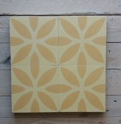 Varianten von articima Zementfliesen Ref. 312 | Gelb Office Supplies, Cement Tiles, Bespoke, Design, Serenity, Colors, Yellow, Taylormade