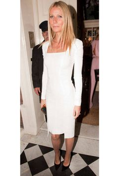 Swap the LBD for a crisp LWD this summer. Click here to see who rocked a chic, white frock this year.
