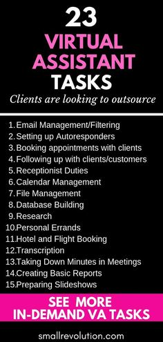 Looking for ways to make more money as a Virtual Assistant? Check out these 23 tasks that clients are always looking to outsource. And grab your FREE Salary Negotiation Cheat Sheet now! Earn More Money, Make Money Online, How To Make Money, How To Become, Virtual Jobs, Virtual Assistant Jobs, Business Motivation, Business Quotes, Business Tips