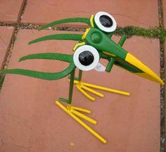 garden fork creature