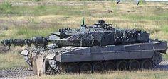 Bundeswehr fighting vehicles Leopard II
